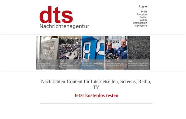 Vorschau von www.dts-nachrichtenagentur.de, Dts Nachrichtenagentur