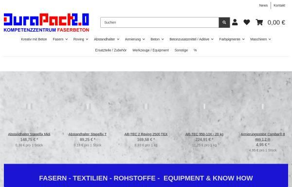 Vorschau von www.durapact.de, Durapact Gesellschaft für Faserbetontechnologie mbH