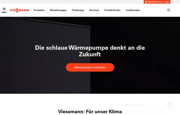 Vorschau von www.viessmann.de, Viessmann Werke GmbH & Co. KG