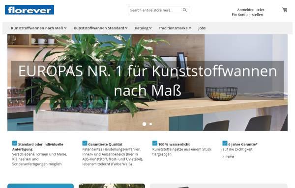 Vorschau von www.florever.at, Florever Europe GmbH