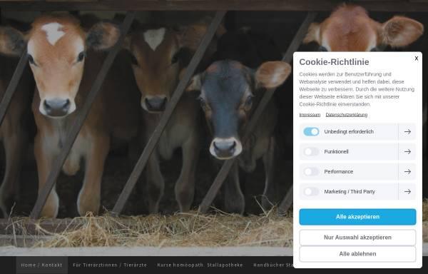Vorschau von www.handbuchzurstallapotheke.ch, Handbuch zur Homöopathischen Stallapotheke