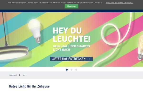Vorschau von www.mueller-licht.de, Müller-Licht GmbH