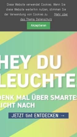 Vorschau der mobilen Webseite www.mueller-licht.de, Müller-Licht GmbH