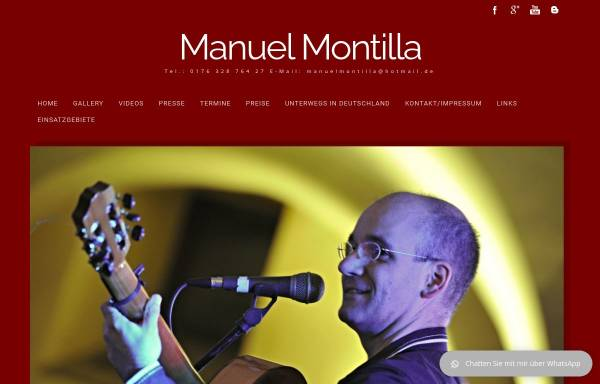 Vorschau von www.manuel-montilla.de, Montilla Manuel