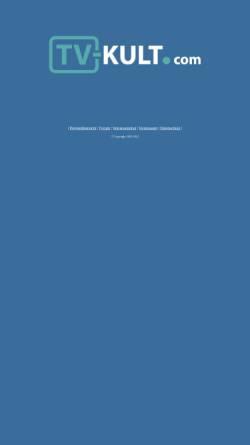 Vorschau der mobilen Webseite www.tv-kult.com, TV-Kult