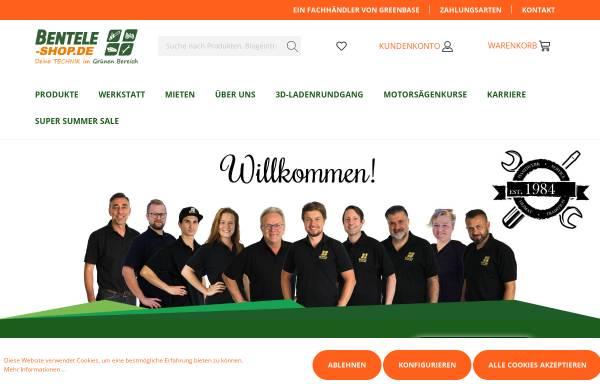 Vorschau von www.bentele-shop.de, Edwin Bentele