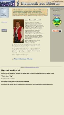 Vorschau der mobilen Webseite www.polanik.de, Polanik, Adam
