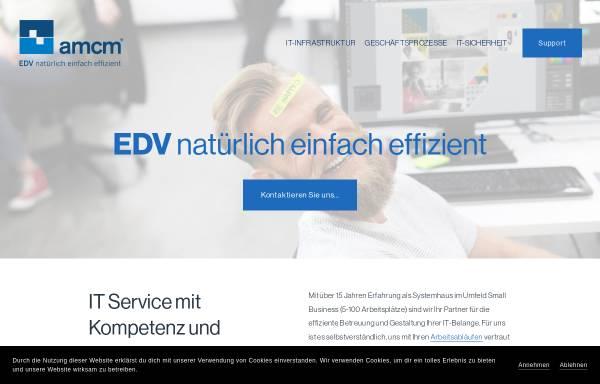 Vorschau von www.amcm.de, amcm GmbH