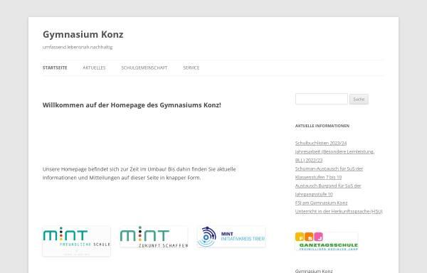 Vorschau von www.gymnasium-konz.de, Gymnasium Konz