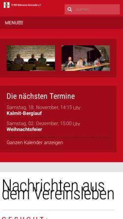 Vorschau der mobilen Webseite tv-maikammer.de, TV 1847 Maikammer-Alsterweiler e.V.