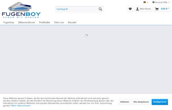 Vorschau von www.fugenboy.de, Flux-Werkzeuge GmbH