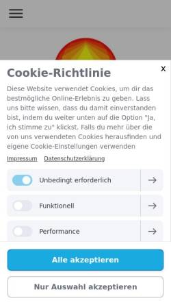 Vorschau der mobilen Webseite www.heilpraktiker-kreidler.de, Björn Kreidler