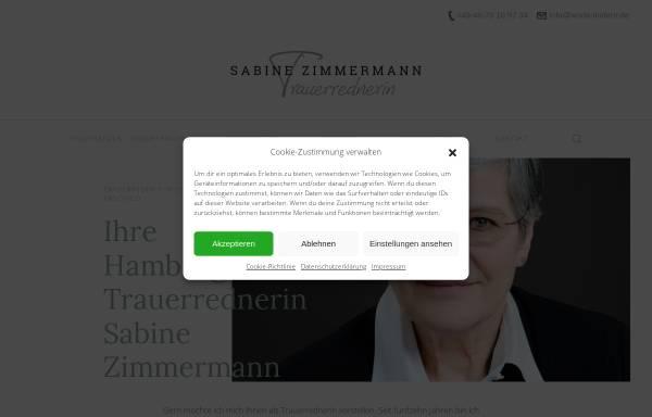 Vorschau von worte-lindern.de, Sabine Zimmermann