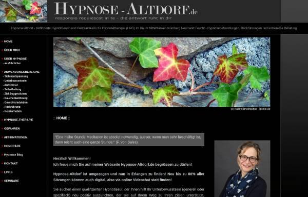 Vorschau von hypnose-altdorf.de, Stefanie Weigle