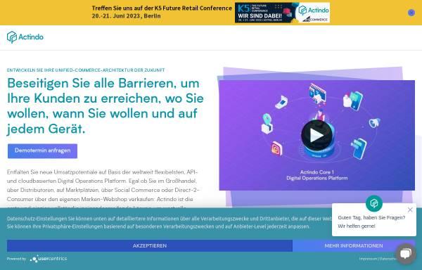 Vorschau von www.actindo.de, Actindo GmbH