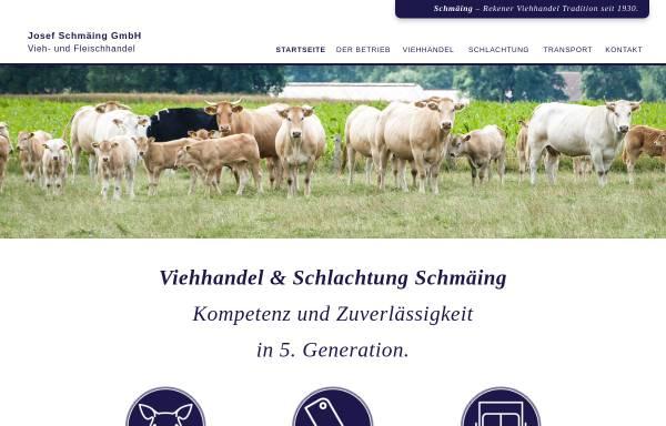 Vorschau von www.schmaeing-reken.de, Josef Schmäing GmbH - Vieh- und Fleischhandel