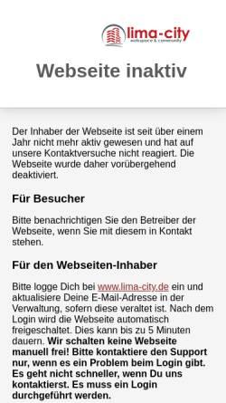 Vorschau der mobilen Webseite bevereltern.lima-city.de, Elterninitiative Beverstedt
