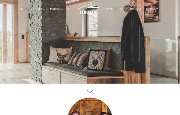 Tirolia Holzhaus tirolia blockhaus vertriebs gmbh in seiwerath blockhäuser