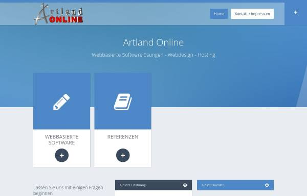 Vorschau von www.artland-online.de, Artland Online