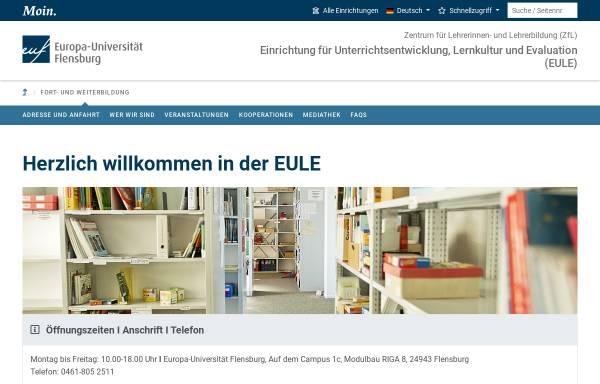 Vorschau von www.eule-flensburg.de, EULE Flensburg