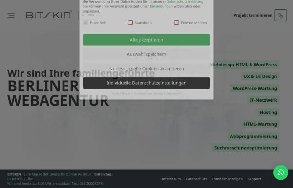 Vorschau von www.bitskin.de, Bitskin GmbH