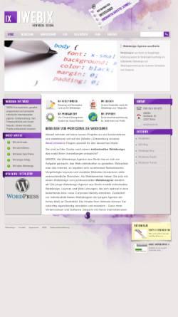Vorschau der mobilen Webseite www.iwebix.de, IWEBIX