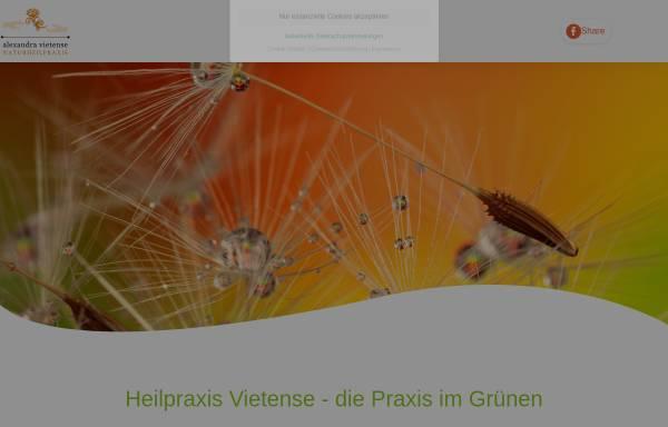 Vorschau von www.heilpraktiker-landau.de, Naturheilpraxis Alexandra Vietense