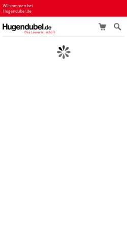 Vorschau der mobilen Webseite www.hugendubel.de, Heinrich Hugendubel GmbH
