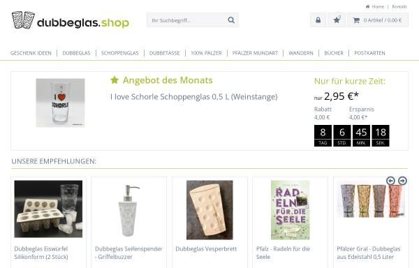 Vorschau von www.dubbeglas.shop, Dubbeglas Shop
