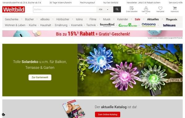 Vorschau von www.weltbild.de, Verlagsgruppe Weltbild GmbH