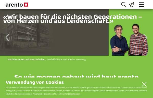 Vorschau von www.arento.ch, Arento AG