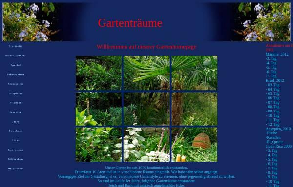 Vorschau von www.gartentraeume.ch, Gartenträume