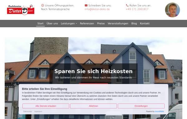 Vorschau von www.dieter-deko.de, Baudekoration Dieter GmbH