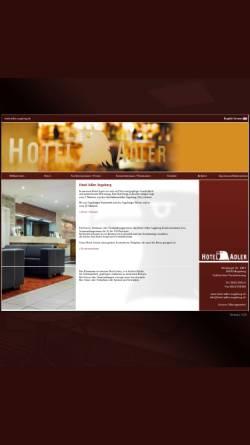 Vorschau der mobilen Webseite www.hotel-adler-augsburg.de, Hotel Adler
