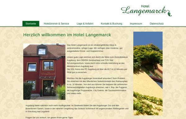 Vorschau von www.hotel-langemarck.de, Hotel garni Langemarck
