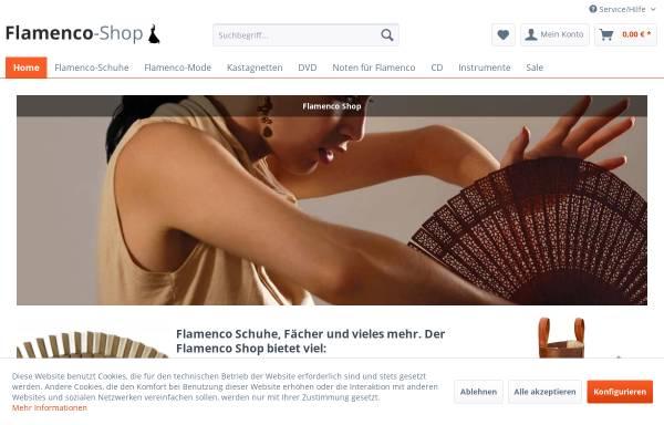 Vorschau von www.flamenco-shop.de, Flamenco Shop, Rüdiger Zietz