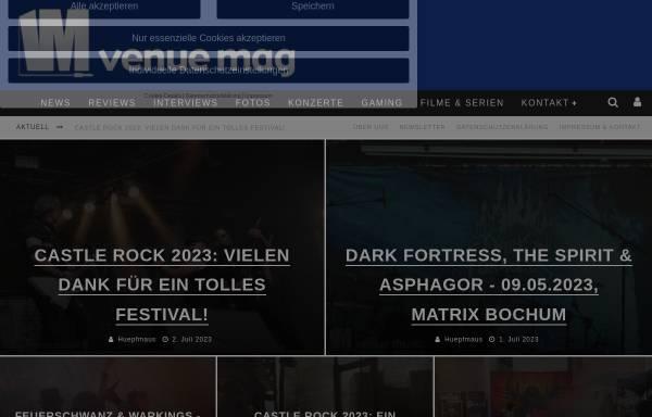 Vorschau von www.musicweblog.de, Andrea's MusicWeblog