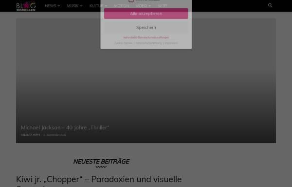Vorschau von blog.rebellen.info, Blogrebellen