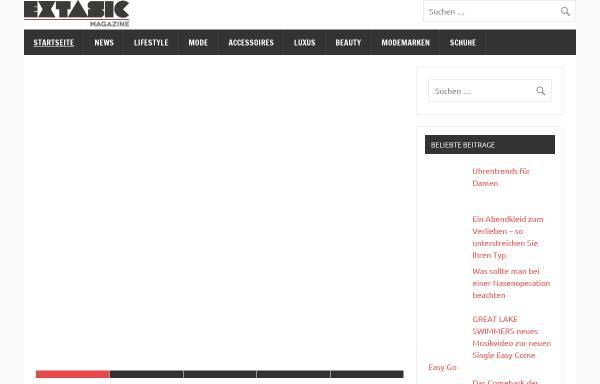 Vorschau von extasic.com, extasic.com