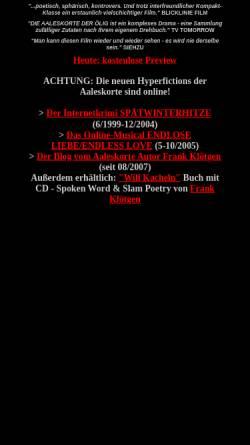 Vorschau der mobilen Webseite www.aaleskorte.de, Die Aaleskorte der Ölig