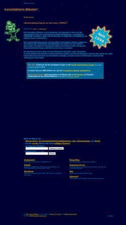 Vorschau der mobilen Webseite www.assoziations-blaster.de, Der Assoziations-Blaster