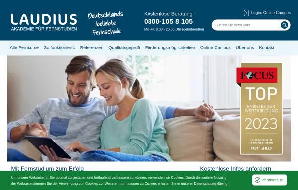 Vorschau von www.laudius.de, Laudius GmbH