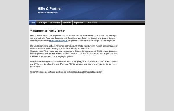 Vorschau von www.abc.de, Hille und Partner GbR