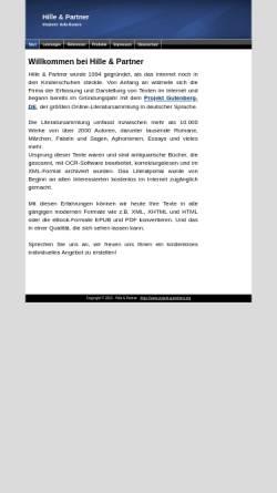 Vorschau der mobilen Webseite www.abc.de, Hille und Partner GbR