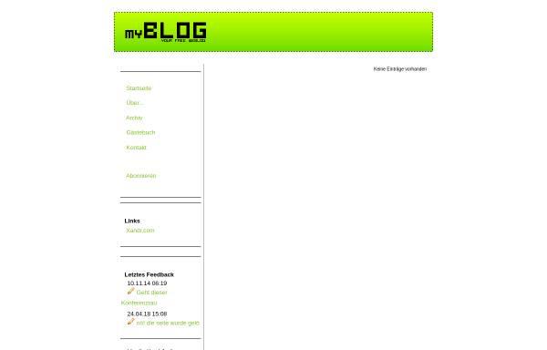 Vorschau von myblog.de, Konferenzraum
