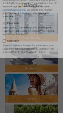 Vorschau der mobilen Webseite kulturniprogram.blog.de, Kulturniprogram