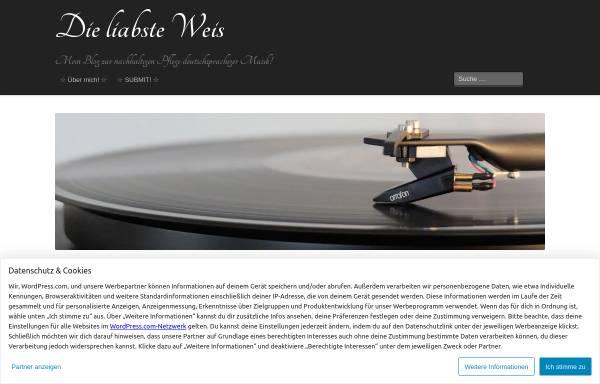 Vorschau von musicblog4you.wordpress.com, Laila's Musikblog