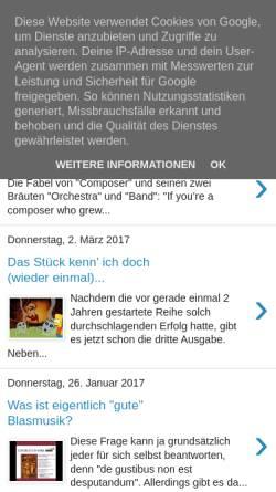 Vorschau der mobilen Webseite mkschardenberg.blogspot.com, Liebes Musi-Tagebuch...