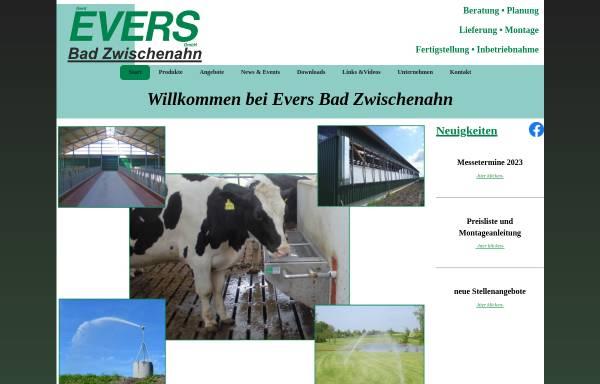 Vorschau von www.evers-bad-zwischenahn.de, Gerd Evers GmbH