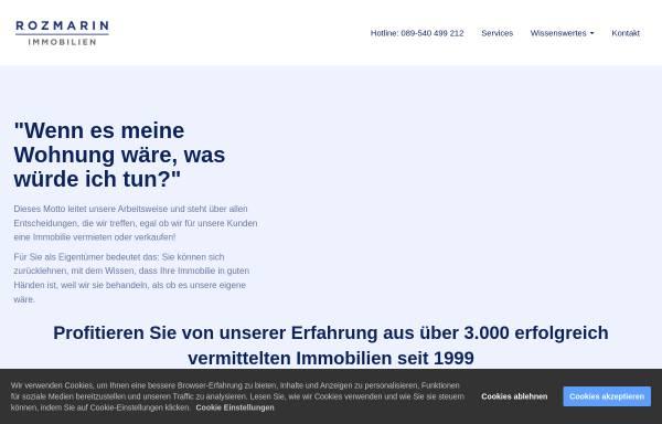 Vorschau von www.vermietspezialist.de, Bartsch & Rozmarin Immobilien OHG